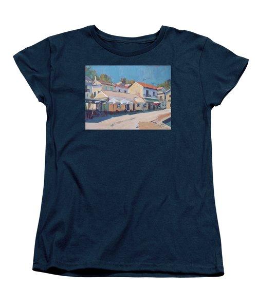 Snackbar Europe Loggos Women's T-Shirt (Standard Cut) by Nop Briex