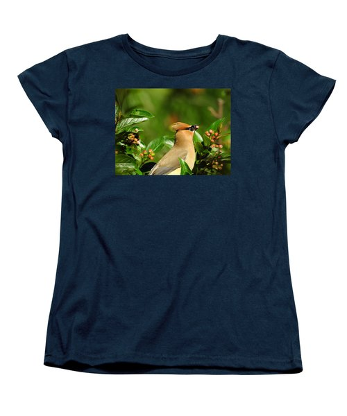 Women's T-Shirt (Standard Cut) featuring the photograph Snacking by Betty-Anne McDonald