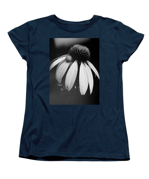 Snail Women's T-Shirt (Standard Cut) by Sharon Jones