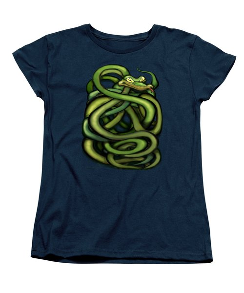 Snakes Women's T-Shirt (Standard Cut) by Kevin Middleton