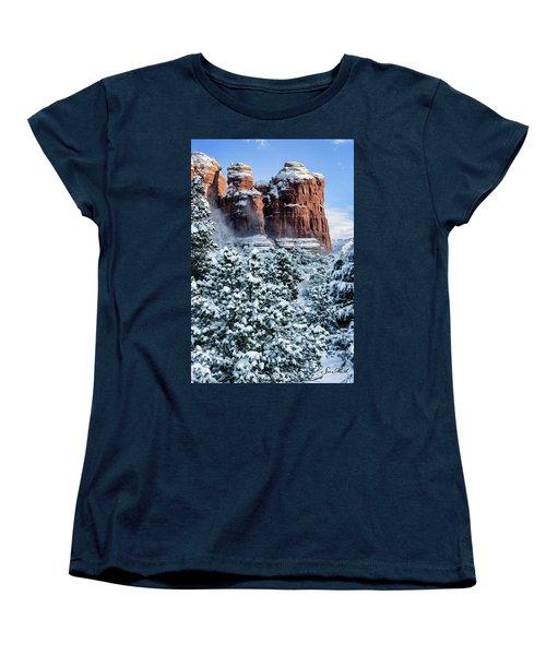Snow 07-111 Women's T-Shirt (Standard Cut) by Scott McAllister