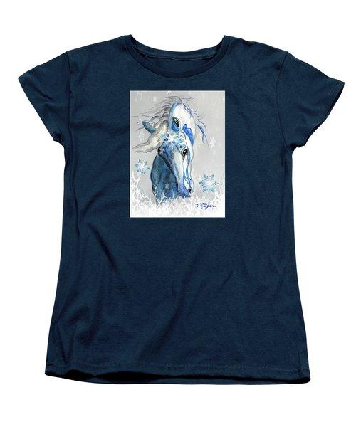 Snow Flakes Women's T-Shirt (Standard Cut)