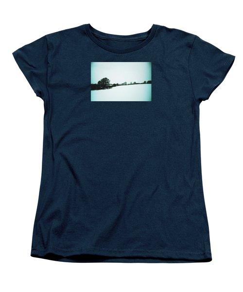 Snow In Sussex Women's T-Shirt (Standard Cut) by Anne Kotan