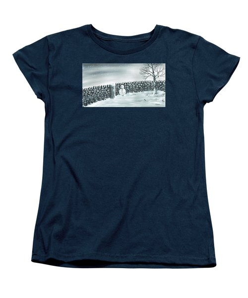 Snow Patrol Women's T-Shirt (Standard Cut) by Kenneth Clarke