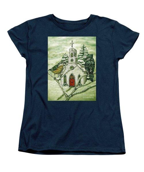 Snowbirds Visit St. Paul Women's T-Shirt (Standard Cut) by Kim Jones