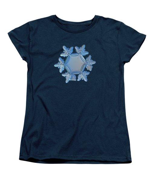 Snowflake Photo - Sunflower Women's T-Shirt (Standard Cut)