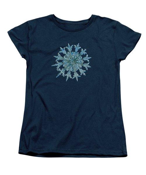 Snowflake Photo - Twelve Months Women's T-Shirt (Standard Cut)