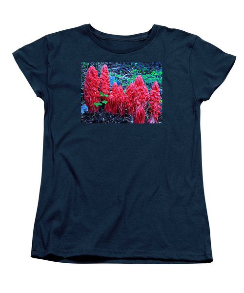 Snowflower Pow Wow Women's T-Shirt (Standard Cut) by Sean Sarsfield