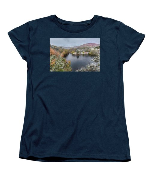 Women's T-Shirt (Standard Cut) featuring the photograph Snowliage by Bill Wakeley
