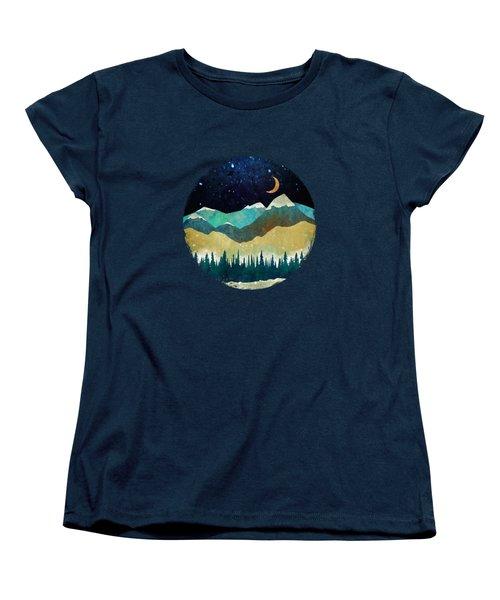 Snowy Night Women's T-Shirt (Standard Fit)