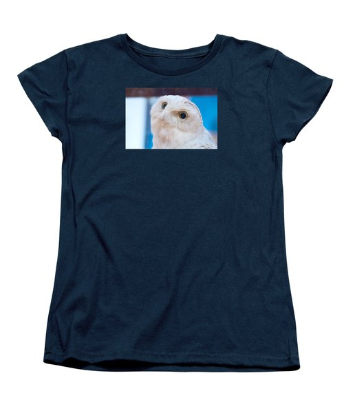 Snowy Owl Women's T-Shirt (Standard Cut) by Kenneth Albin