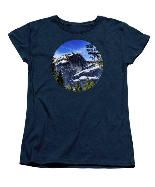 Snowy Sentinel Women's T-Shirt (Standard Cut) by Adam Morsa