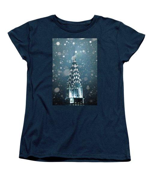 Snowy Spires Women's T-Shirt (Standard Cut) by Az Jackson