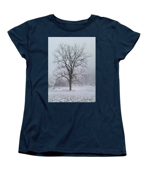 Snowy Walnut Women's T-Shirt (Standard Cut)