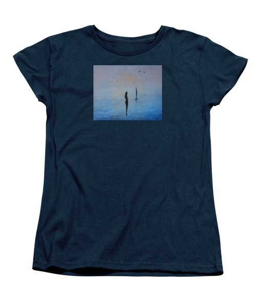 So Close Women's T-Shirt (Standard Cut) by Jane See