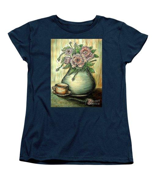 So Serene Women's T-Shirt (Standard Cut) by Kim Jones