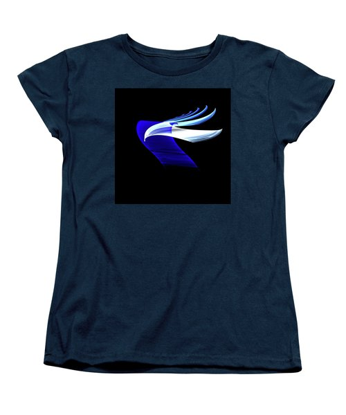 Women's T-Shirt (Standard Cut) featuring the digital art Soaring by Lea Wiggins