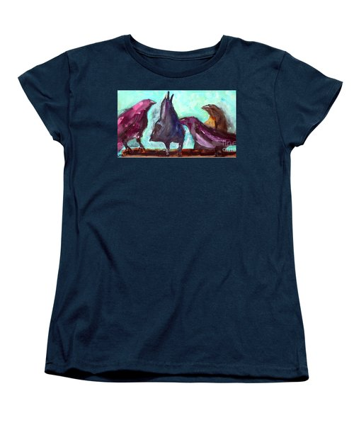 Socializing Women's T-Shirt (Standard Cut)