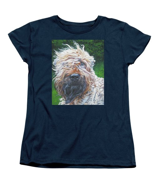 Soft Coated Wheaten Terrier Women's T-Shirt (Standard Cut) by Lee Ann Shepard