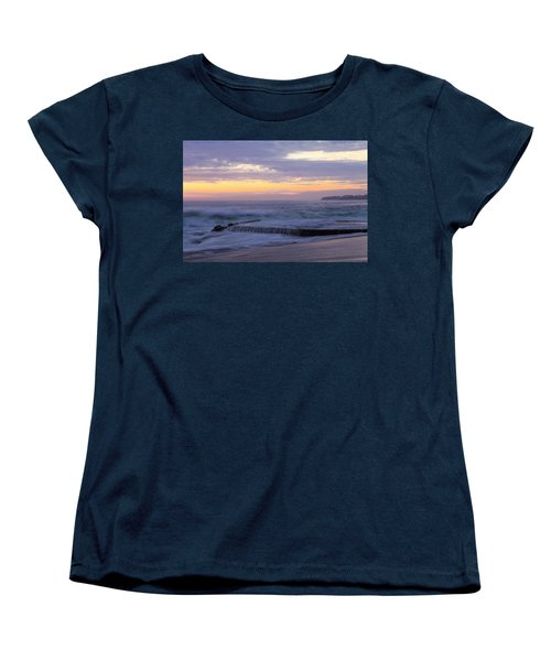 Soft Light On Victoria Beach Women's T-Shirt (Standard Cut) by Viktor Savchenko