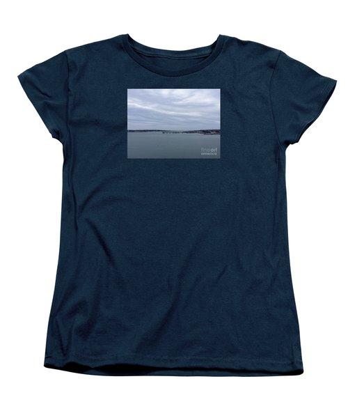 Soft Start, Winter Sunrise Women's T-Shirt (Standard Cut) by Patricia E Sundik