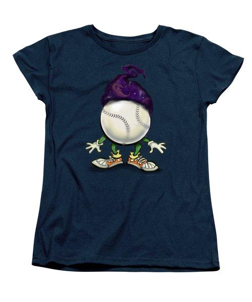 Softball Wizard Women's T-Shirt (Standard Cut) by Kevin Middleton