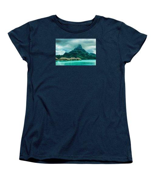 Solitude In Bora Bora Women's T-Shirt (Standard Cut) by Gary Slawsky