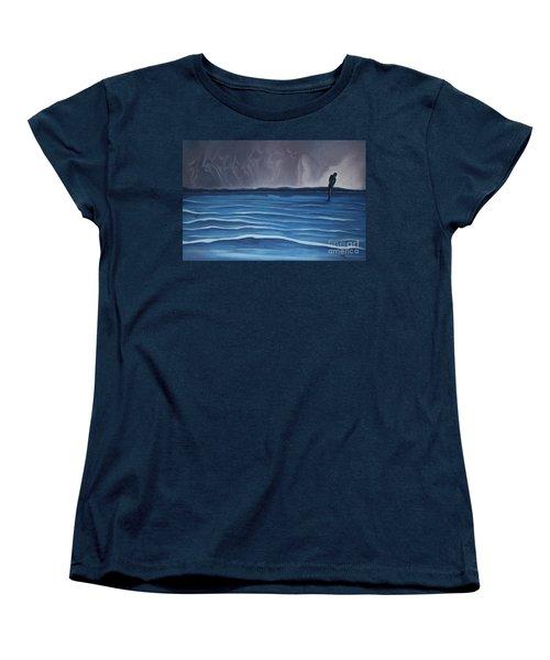 Solitude Women's T-Shirt (Standard Cut) by Michael  TMAD Finney