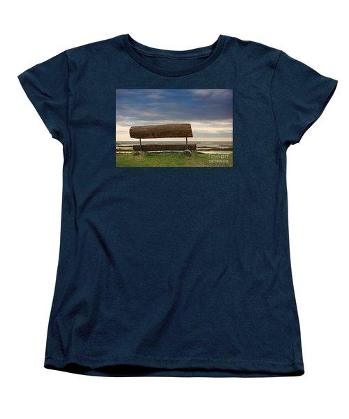 Women's T-Shirt (Standard Cut) featuring the photograph Solitude.. by Nina Stavlund