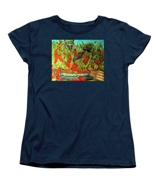 Somebodys Lucky Day Women's T-Shirt (Standard Cut) by Kim Jones