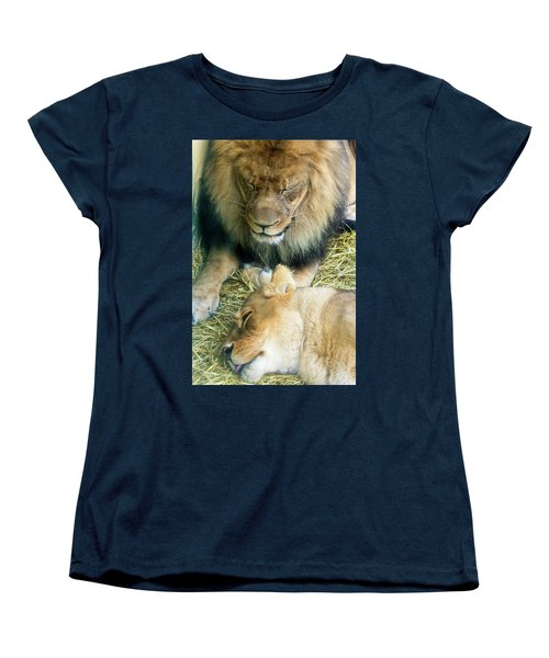 Someone To Watch Over Me Women's T-Shirt (Standard Cut) by David Stasiak