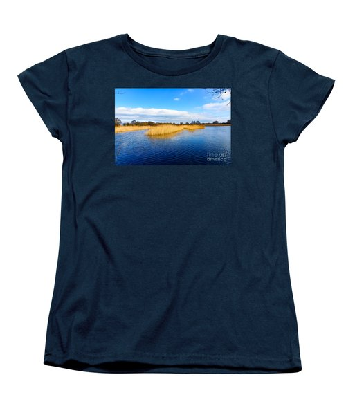 Women's T-Shirt (Standard Cut) featuring the photograph Somerset Levels by Colin Rayner