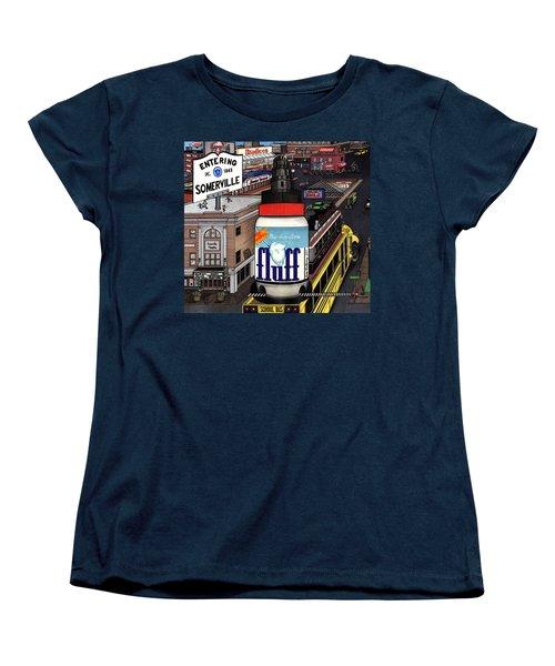 A Strange Day In Somerville  Women's T-Shirt (Standard Cut) by Richie Montgomery