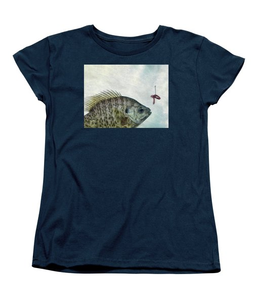 Women's T-Shirt (Standard Cut) featuring the photograph Something Fishy by Mark Fuller
