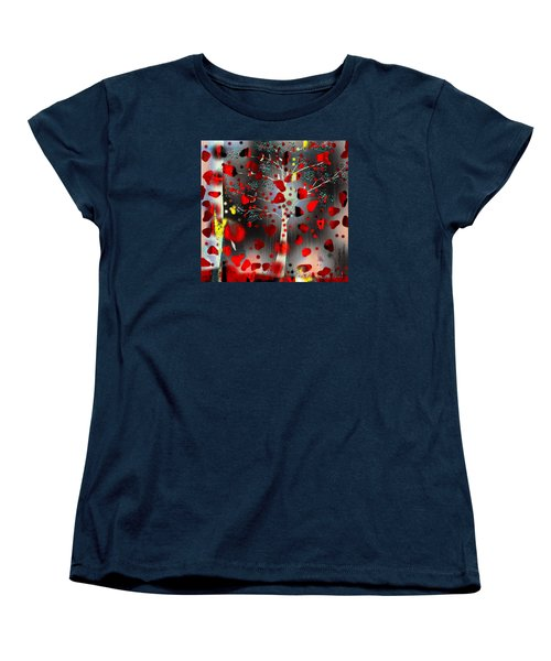 Women's T-Shirt (Standard Cut) featuring the digital art Lift Me Up by Yul Olaivar