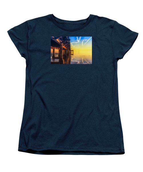 Women's T-Shirt (Standard Cut) featuring the photograph Somewhere Else by Thierry Bouriat