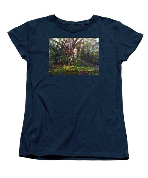Somewhere In The Park Women's T-Shirt (Standard Cut) by Belinda Low