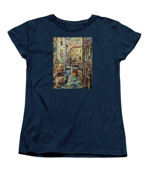 Somewhere In Venice Women's T-Shirt (Standard Cut)