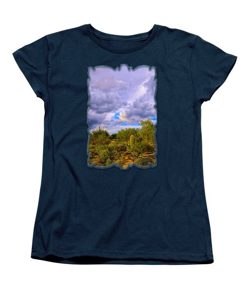 Sonoran Desert V13 Women's T-Shirt (Standard Cut) by Mark Myhaver