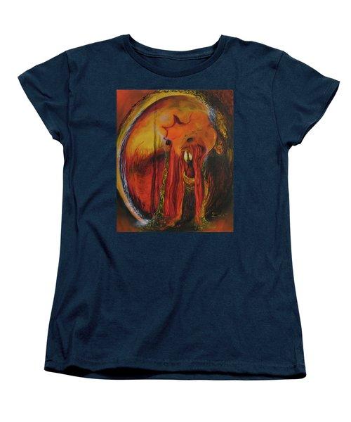 Sorcerer's Gate Women's T-Shirt (Standard Cut) by Christophe Ennis