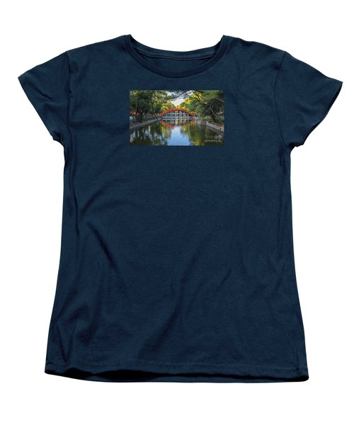 Sorihashi Bridge In Osaka Women's T-Shirt (Standard Cut) by Pravine Chester