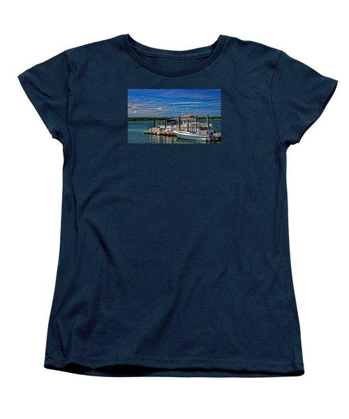 Sorting The Catch Women's T-Shirt (Standard Cut) by Paul Mashburn