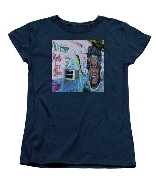 Martha Lou's Women's T-Shirt (Standard Cut) by Ed Waldrop