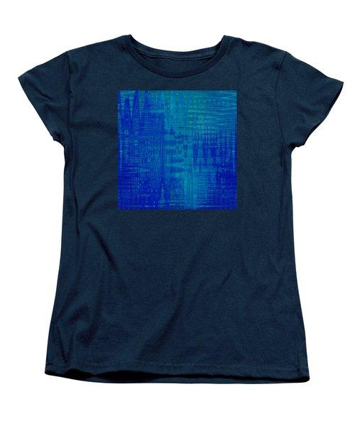 Sounds Of Blue Women's T-Shirt (Standard Cut) by Stephanie Grant