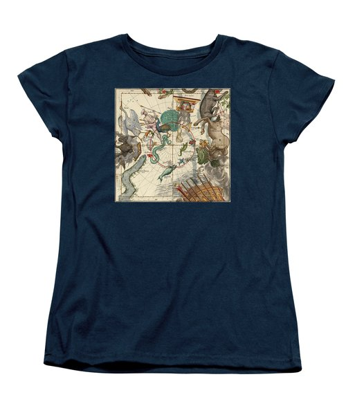 South Pole Women's T-Shirt (Standard Cut) by Ignace-Gaston Pardies