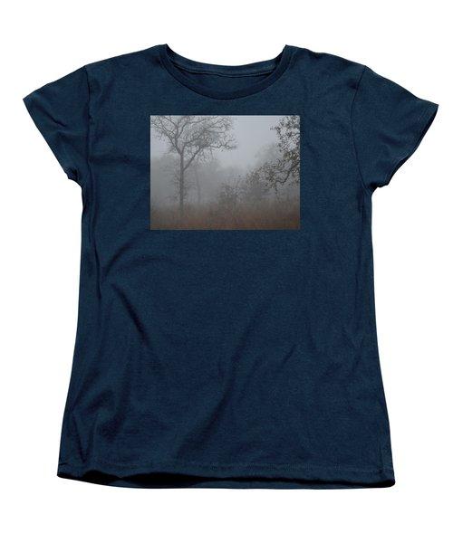 Women's T-Shirt (Standard Cut) featuring the photograph South Texas Fog I by Carolina Liechtenstein