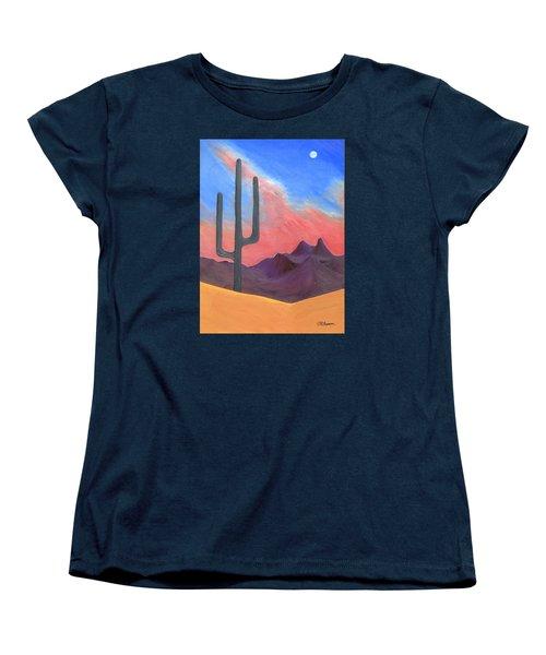 Southwest Scene Women's T-Shirt (Standard Cut) by J R Seymour
