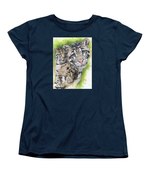 Women's T-Shirt (Standard Cut) featuring the mixed media Sovereignty by Barbara Keith