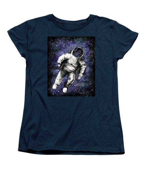 Spaaaaace Women's T-Shirt (Standard Cut) by Arleana Holtzmann