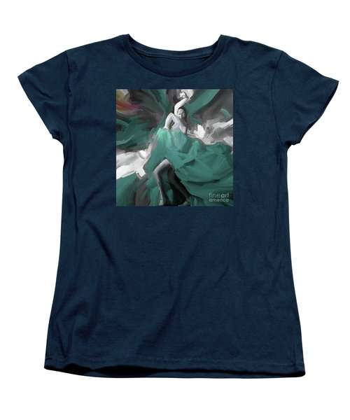 Women's T-Shirt (Standard Cut) featuring the painting Spanish Dance Art 56yt by Gull G